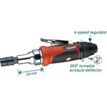 1/4'' (6mm) Extended Air Die Grinder (1'' Extension) (AT-7032LAN)