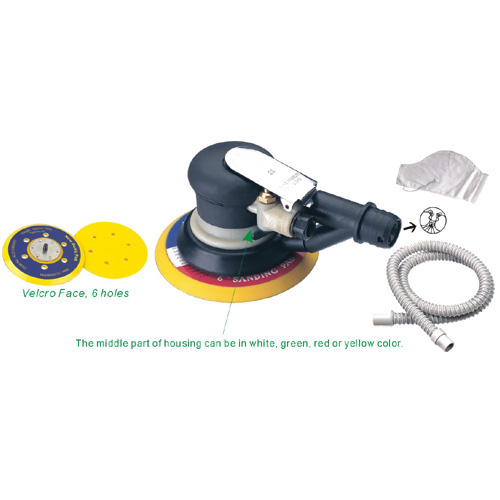 6'' Central Vacuum-Ready Model Air Sander (AT-991LA)