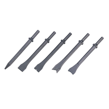5-PC Air Chisel Set, Long (round) (ACL-003)