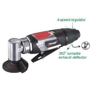 2-1/2'' Air Angle Grinder(with Swivel Metal Guard)(NST-7037FM)
