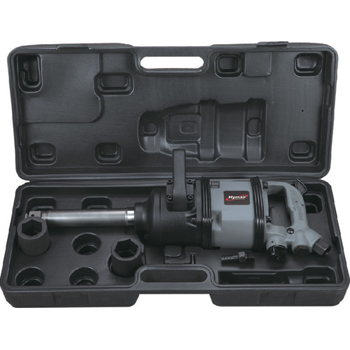 6 PC 1'' H. D. Extended Anvil Air Impact Wrench Kit (Twin Hammer) (AT-9901K)