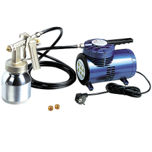 Hymair Mini Air Compressor Kit (Low Pressure Spray Gun) (AS06K)